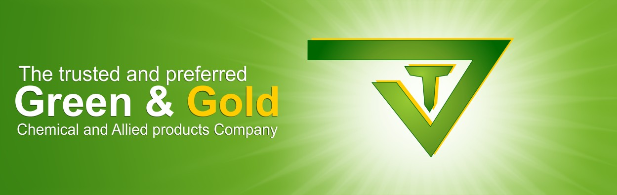 The trusted and preferred Green and Gold Chemical and Allied Products company