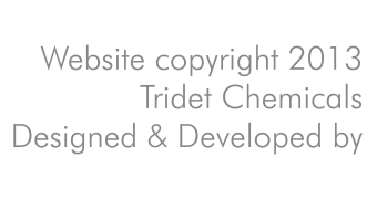 Website copyright Tridet Chemicals 2013
